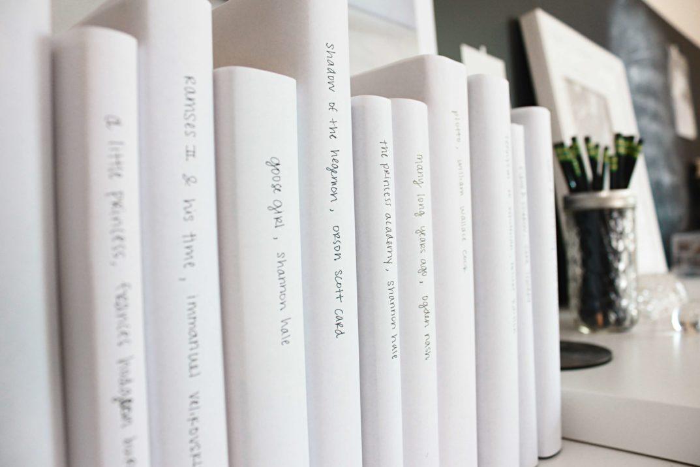 Książki to warsztat pisarza