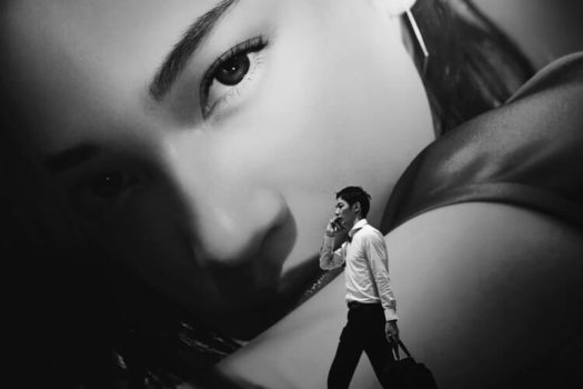 Mural girl | Wiersz